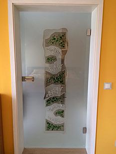 Exklusive Design Ganzglastüren - Motive und Bilder