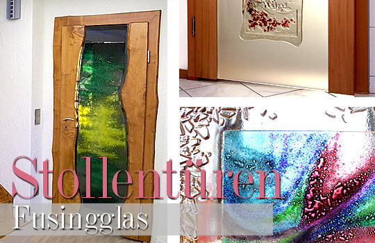 Holzglastüren Mit Fusingglas - Design Türen Aus Holz Und Glas