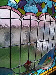 die exklusivste art fenster zu gestalten - bleiverglasung und glasmalerei